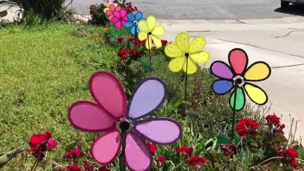Whirligig Craft Ideas Including Fun Yard Decorations To Garden Designs
